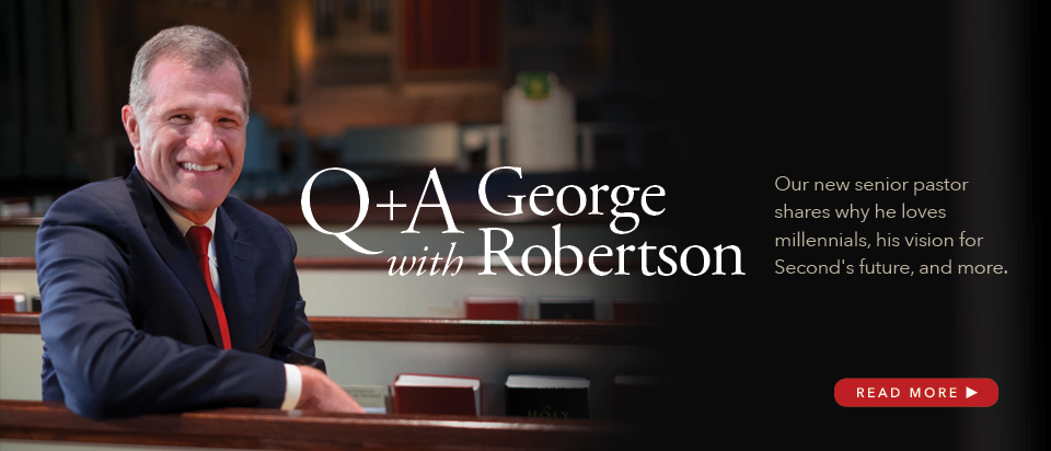 Q+A with George Robertson slide