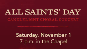 All Saints Day Concert image