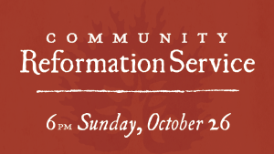Community Reformation Service 2014 image