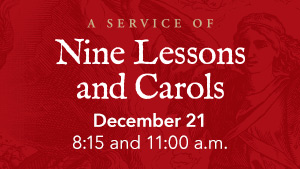 Nine Lessons and Carols image