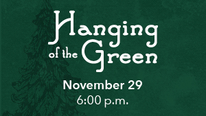 Hanging of the Green image