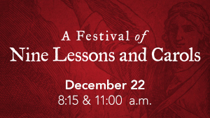 A Festival of Nine Lessons and Carols image