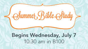 WIM Summer Bible Study